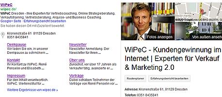 Verkauf im Internet