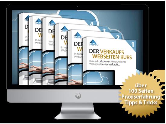 Produktbild Verkaufs Website