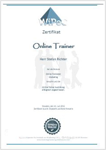 Online-Ausbildung zum \
