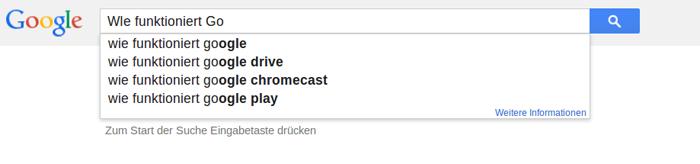 Wie funktioniert Google