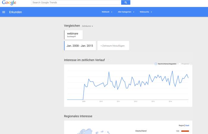 Keywords finden mit Google