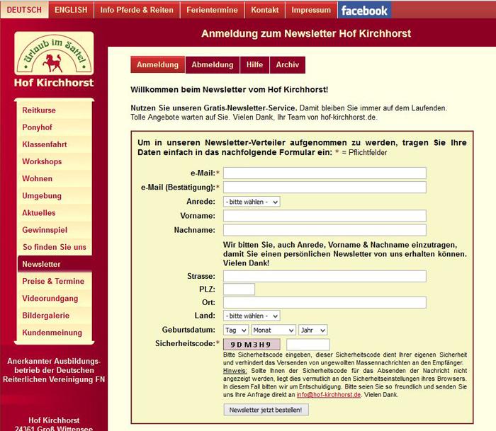 Newsletter Anmeldung optin-strategie 9 700