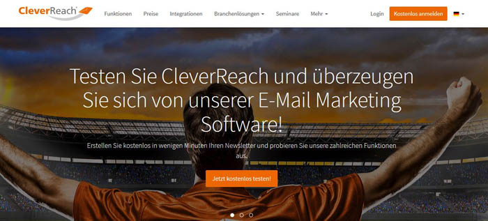 online marketing tools - Cleverreach