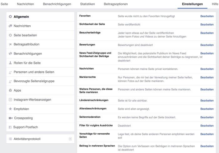 Facebook Page erstellen 13