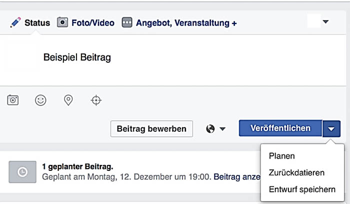 Facebook Seite bekannt machen