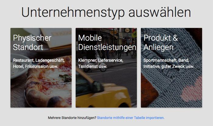 Firma in Google Maps eintragen 3