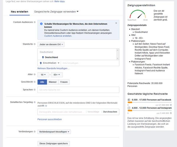 Wie funktioniert Werbung auf Facebook 2