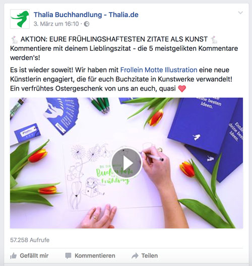 Gewinnspiele bei Facebook 1