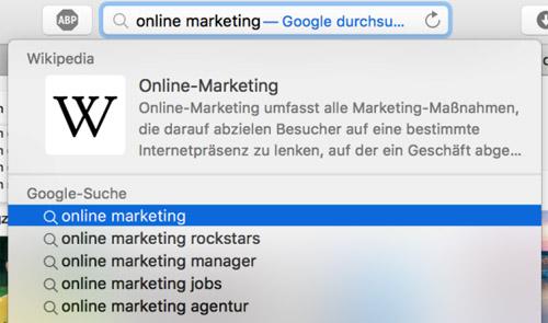 Google Platzierung 3