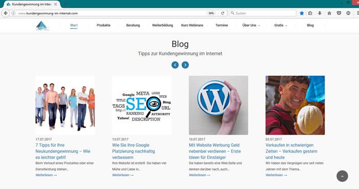 Blog bekannter machen 2