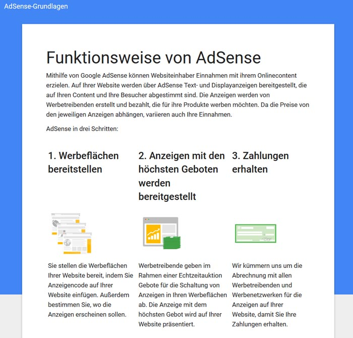 Was ist Google Adsense 1