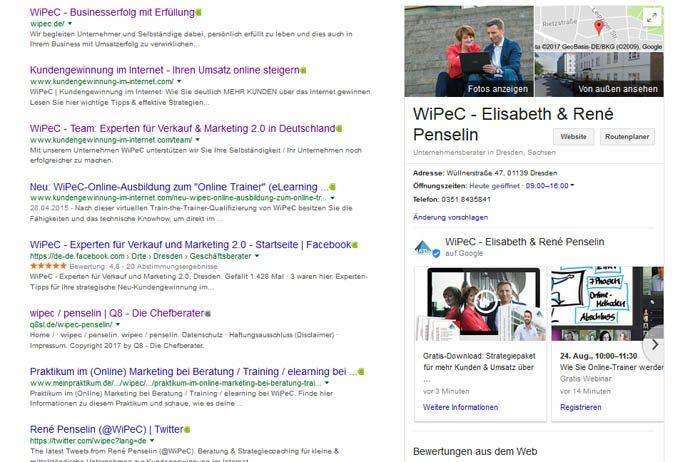 Neue Funktion bei Google 1