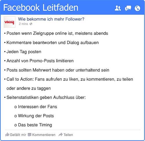 Tipps zur Facebook-Nutzung - Gastbeitrag 2