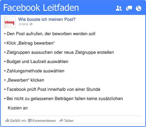 Tipps zur Facebook-Nutzung - Gastbeitrag 3