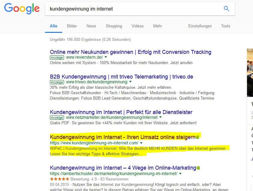 Google Suchmaschinenoptimierung im Jahre 2018 Tags