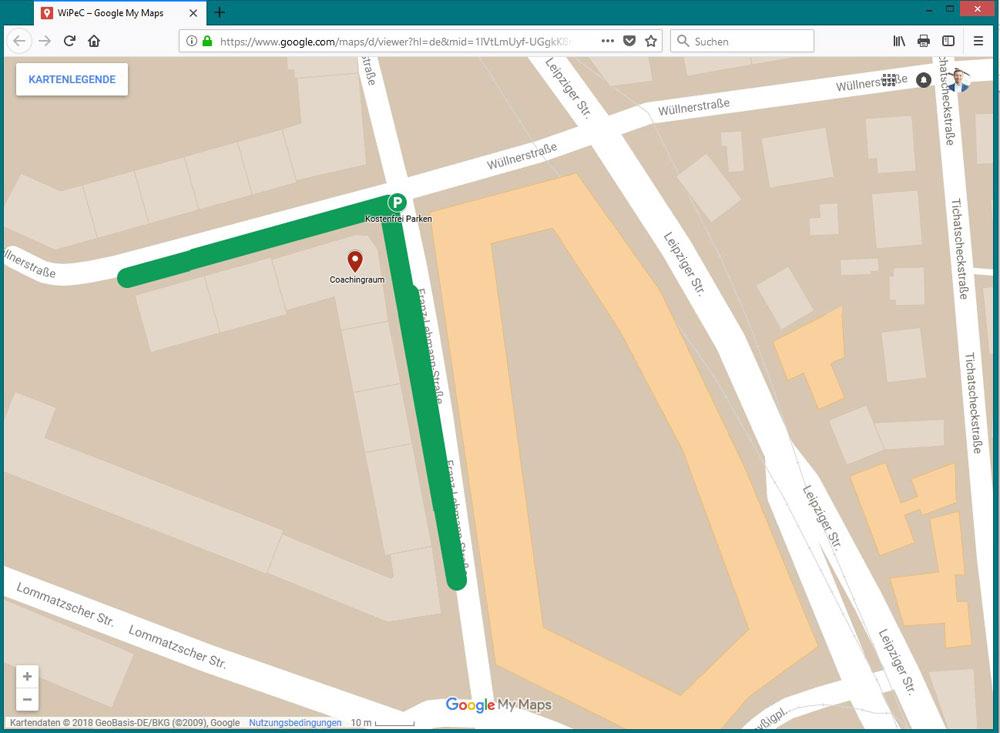 Google My Maps Individuelle Karten erstellen