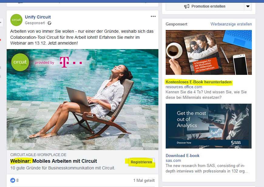 Was bringt Werbung auf Facebook 3