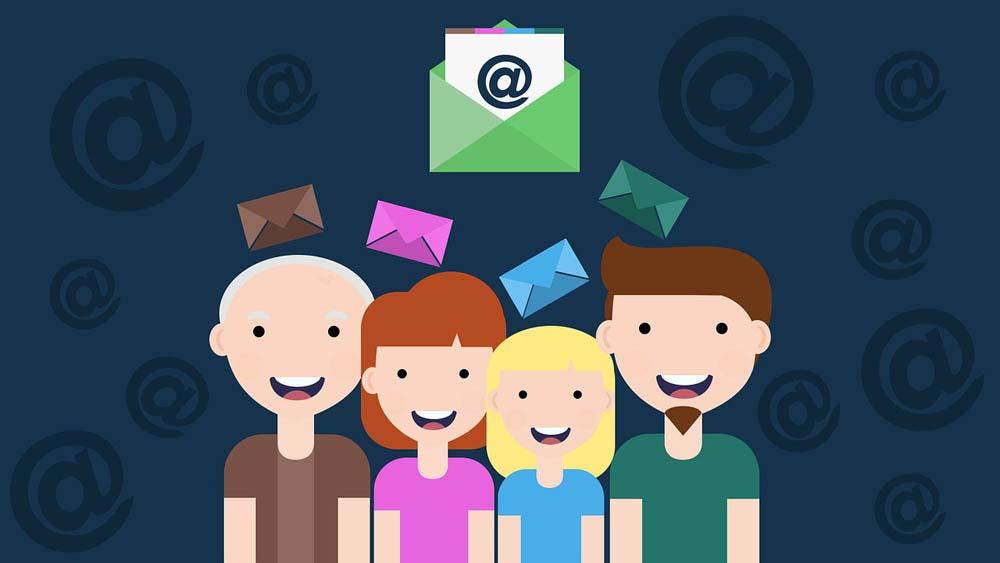 Gute Öffnungsrate Newsletter